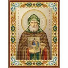 Икона - Св. Александр Свирский