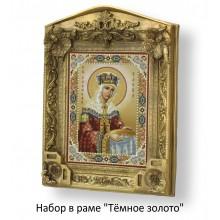 Набор в раме с бисером - икона - Св. равноап. Елена