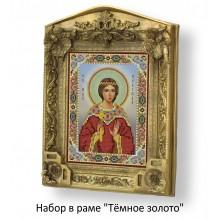 Набор в раме с бисером - икона - Св. мч. Надежда