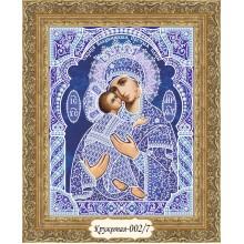 """""""Владимирская икона Б. М."""" - набор для вышивания в """"кружевной"""" технике"""