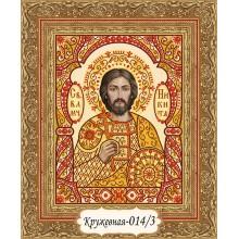 """""""Святой великомученик Никита воин"""" - набор для вышивания в """"кружевной"""" технике"""
