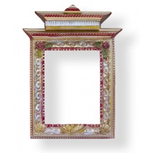 """Рамка ручной работы буддийская """"Золтая пагода"""""""