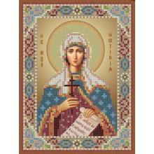 Икона - Св. мч. Фотиния